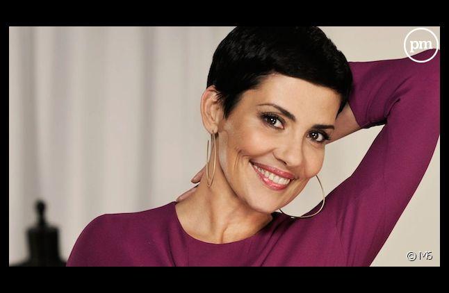 Cristina Cordula aux commandes d'un pilote de magazine pour M6