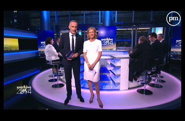 La soirée électorale de TF1 devant celle de France 2