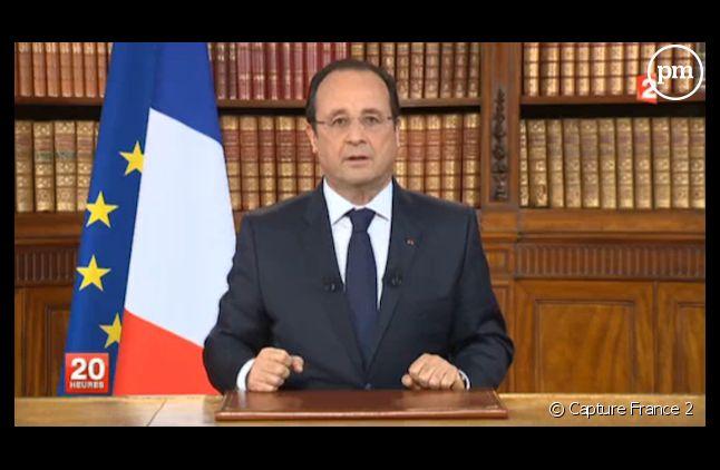 François Hollande s'est exprimé après la défaite des européennes