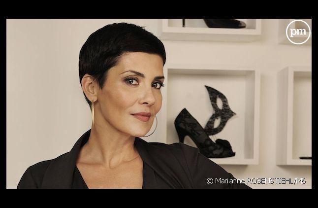 La mode, la couture... et maintenant le foot, pour Cristina Cordula.
