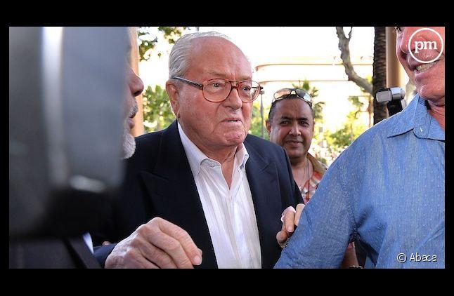 Hier soir, Jean-Marie Le Pen était en déplamcement à Nice