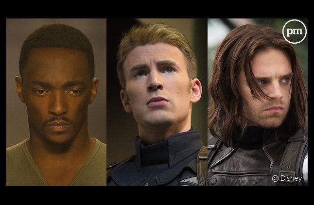 "Anthony Mackie, Chris Evans et Sebastian Stan : qui sera le prochain ""Captain America"" ?"
