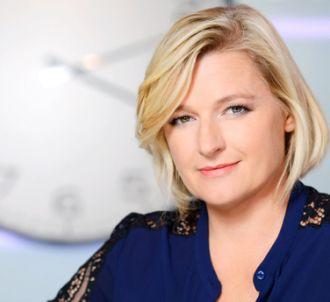 Anne-Elisabeth Lemoine, dans 'C à vous', sur France 5.