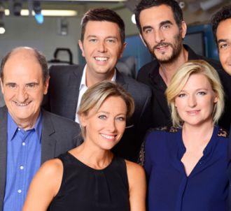 La nouvelle équipe de 'C à vous', sur France 5.