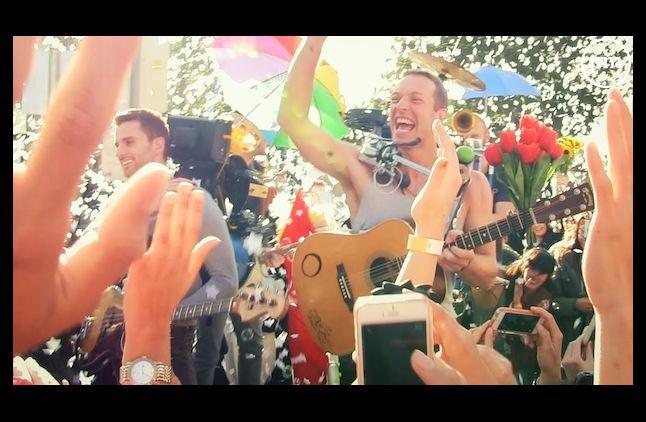 Coldplay, quatrième plus gros tube de l'été cette année en France