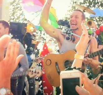 Coldplay, quatrième plus gros tube de l'été cette année...