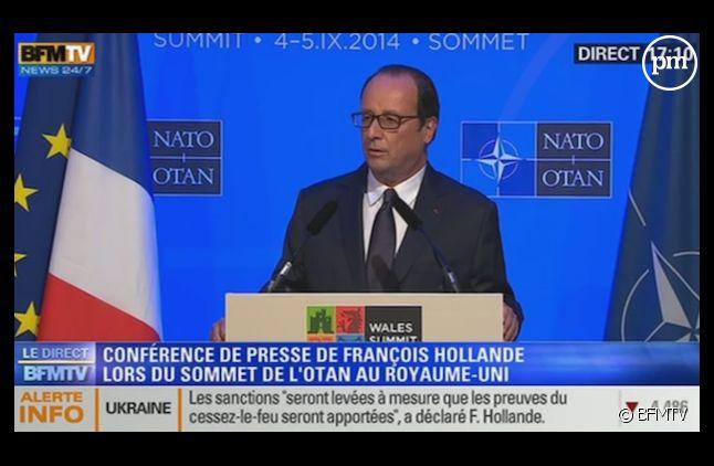 François Hollande évoque le livre de Valérie Trierweiler