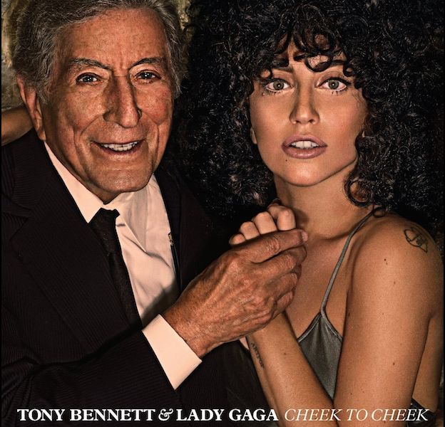 "1. Tony Bennett & Lady Gaga - ""Cheek to Cheek"""