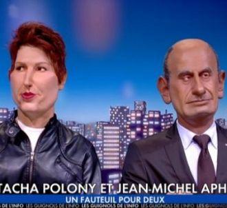 La marionnette de Natacha Polony dans 'Les Guignols de...