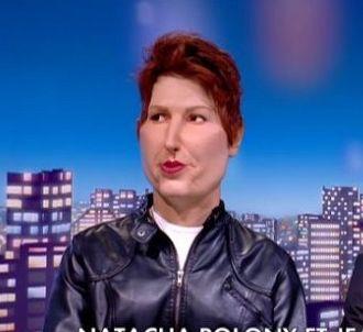 Natacha Polony dans 'Les Guignols de l'info' sur Canal+...