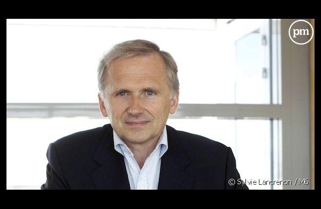 <span>Le vice-président du directoire du groupe M6, Thomas Valentin</span>