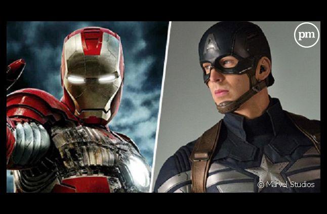 "Iron Man sera dans ""Captain America 3"""
