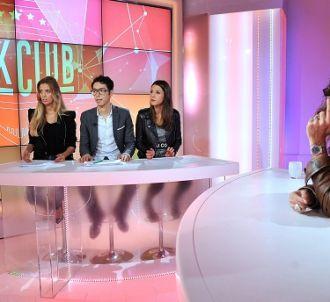 Les trois jeunes contributeurs de 'Talk Club' : Vanille...