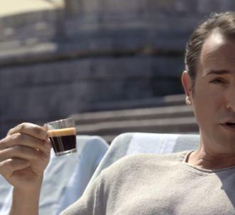 Premier teaser de la publicité Nespresso avec Jean Dujardin