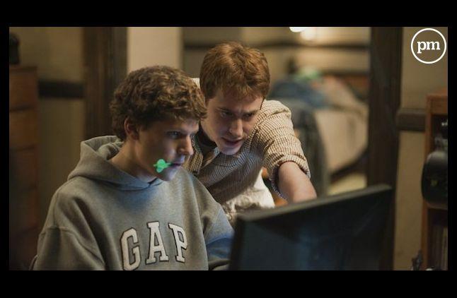 """Jesse Eisenberg incarne Mark Zuckerberg dans """"The Social Network""""."""
