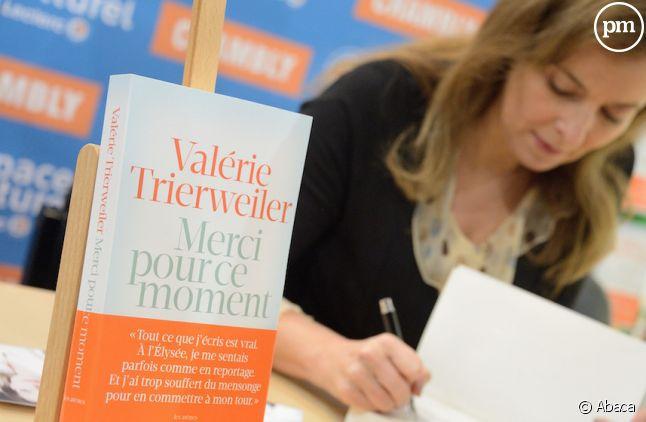 """Valérie Trierweiler ne fera pas de suite à """"Merci pour ce moment"""""""