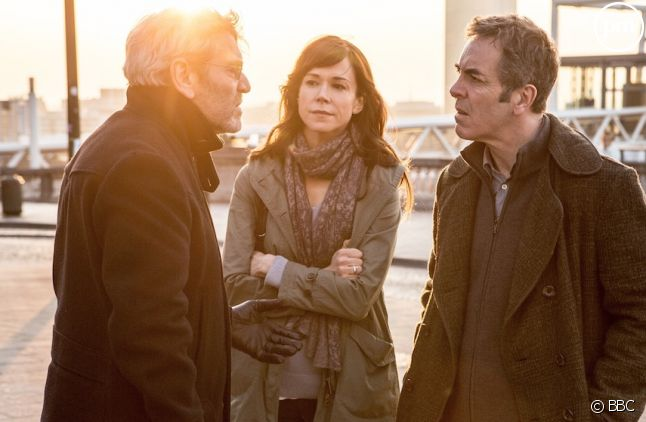"Tcheky Karyo, Frances O'Connor et James Nesbitt dans ""The Missing"""