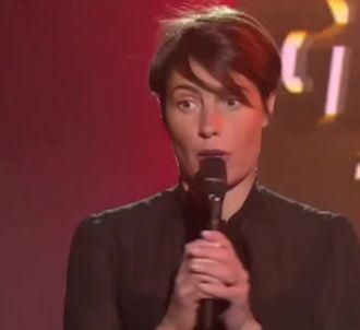 Alessandra Sublet reçoit son Gérard du 'paradoxe', le 19...