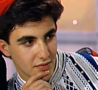 <span>Première télévision de Nikos Aliagas en 1985 dans...
