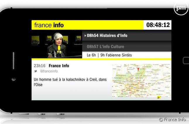 """""""Le Live"""" de France Info"""
