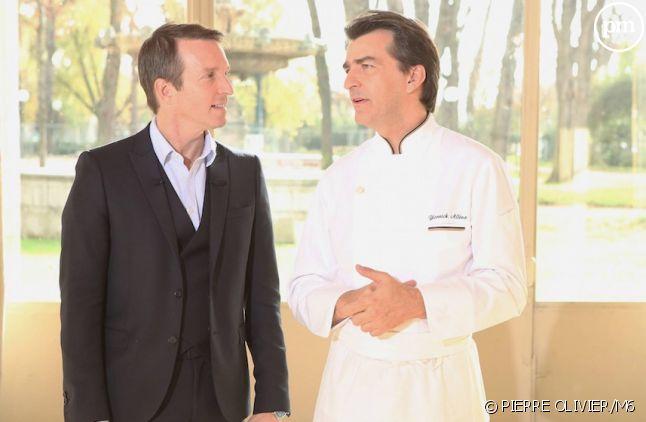 """Stéphane Rotenberg et Yannick Aleno dans """"Top Chef"""" 2015"""