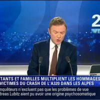 BFMTV : Christophe Hondelatte victime d'un malaise pendant son JT