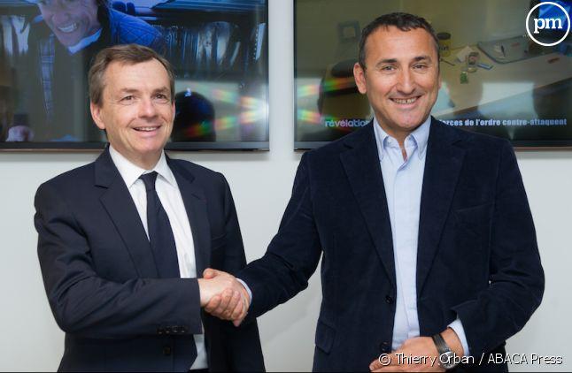 Alain Weill et Pascal Houzelot.