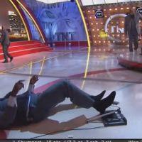 Shaquille O'Neal chute de nouveau à la télévision américaine
