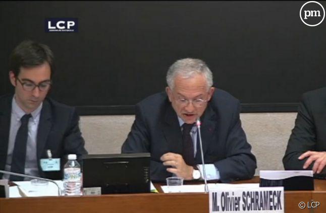 Olivier Schrameck face aux parlementaires.