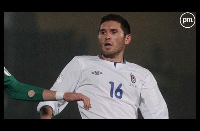 Le joueur azéri Javid Huseynov.