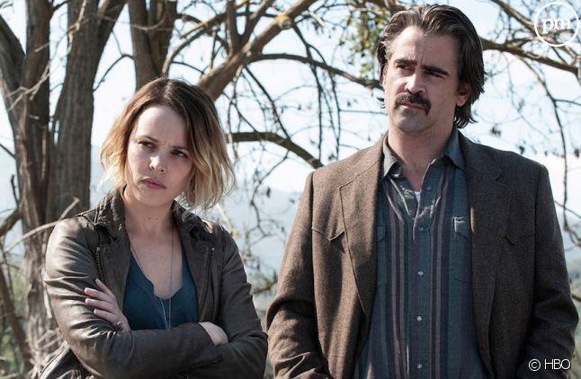 """Rachel McAdams et Colin Farrell dans """"True Detective"""" saison 2"""