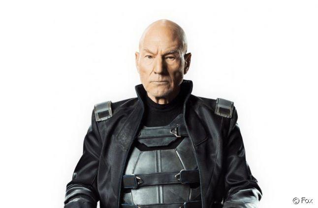 "Patrick Stewart, alias Charles Xavier dans les films ""X-Men"""