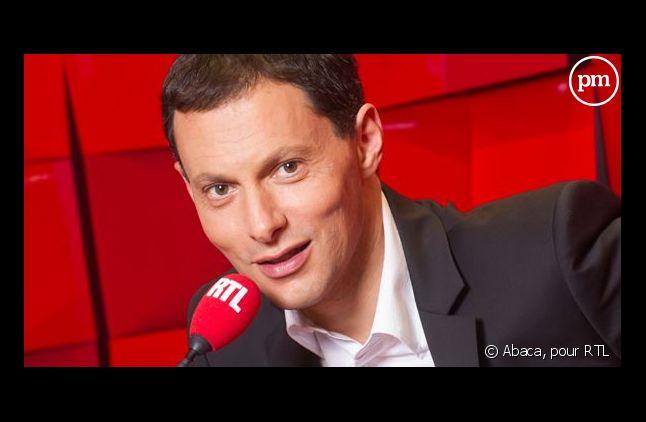 Marc-Olivier Fogiel, sur RTL.