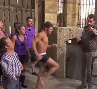 Rayane Bensetti en maillot de bain dans 'Fort Boyard'