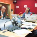 """Gilles Bouleau, premier invité de """"Les Dessous de l'Ecran"""" sur RTL."""