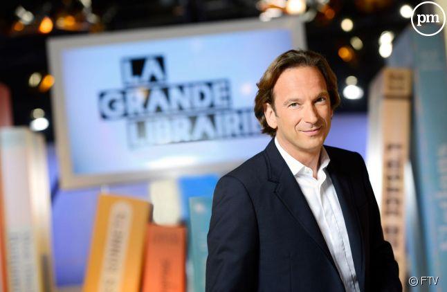 """""""La grande librairie"""", sur France 5."""