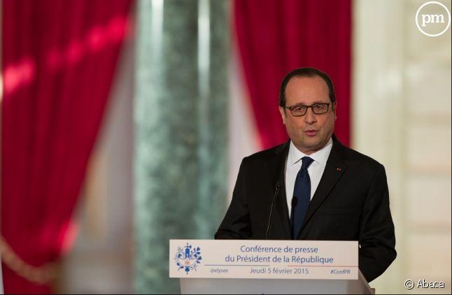 François Hollande, le 5 février 2015.