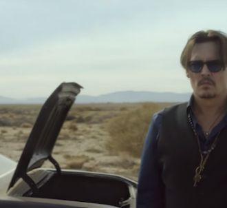 Johnny Depp dans la publicité de Sauvage de Dior
