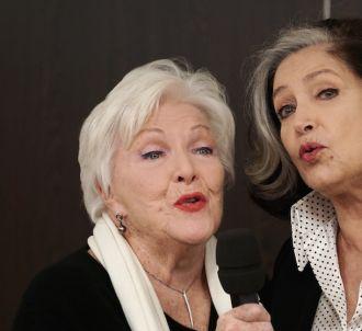 Françoise Fabian et Line Renaud dans 'Dix pour cent'