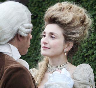 Julie Gayet et JoeyStarr dans 'Dix pour cent'