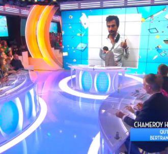 Bertrand Chameroy bléssé