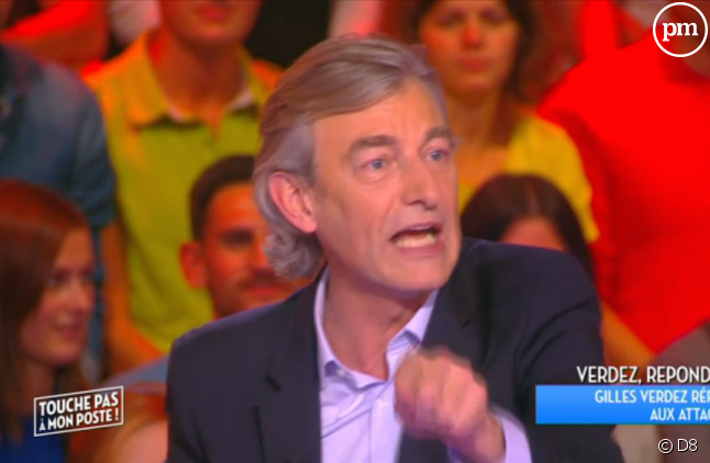"""Gilles Verdez dans """"Touche pas à mon poste"""""""