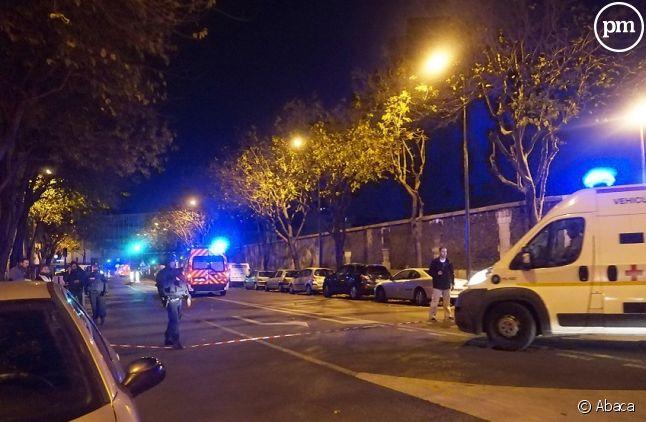 Lieu d'une des attaques à Paris hier soir