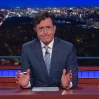Attentats à Paris : Stephen Colbert évoque la tragédie à la fin de son late show