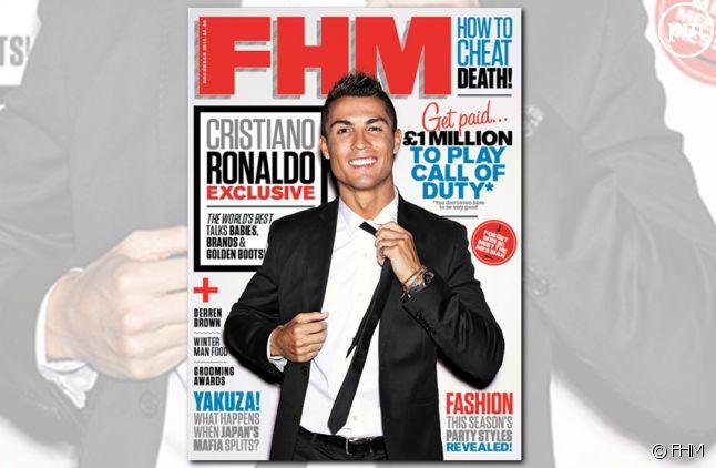 """La dernière Une du magazine """"FHM"""""""