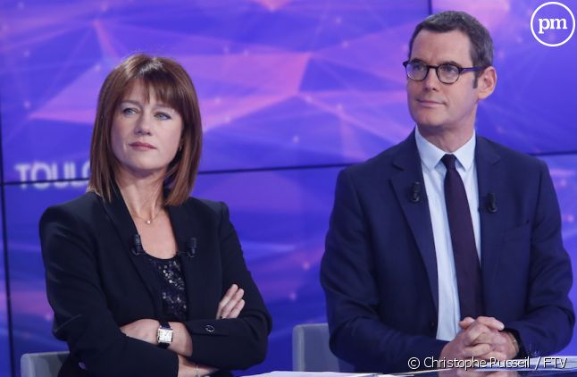 <span>Carole Gaessler et Francis Letellier</span>