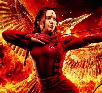 Jennifer Lawrence sur l'affiche du dernier 'Hunger Games'