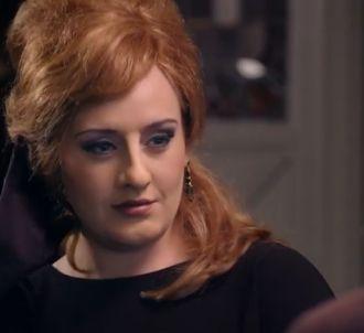 Adele se déguise pour participer à un faux concours...