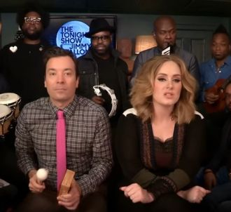 Adele, Jimmy Fallon et The Roots