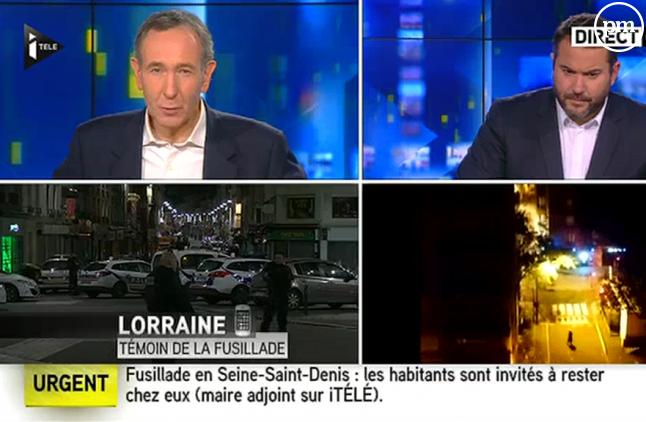 L'assaut à Saint-Denis, sur iTELE.
